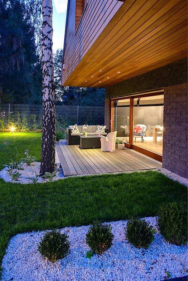 Dise o de interiores arquitectura casa de madera con Estilo contemporaneo arquitectura