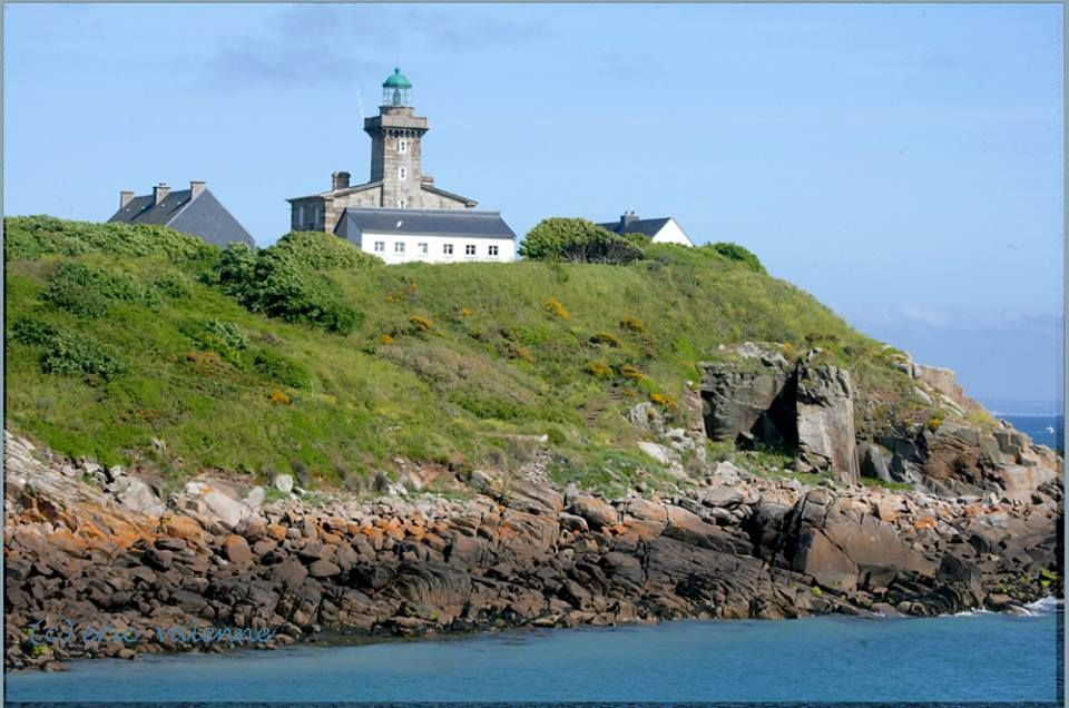 Chausey Islands English Channel Iles De La Manche Normandie France Reizen Vuurtorens Normandie