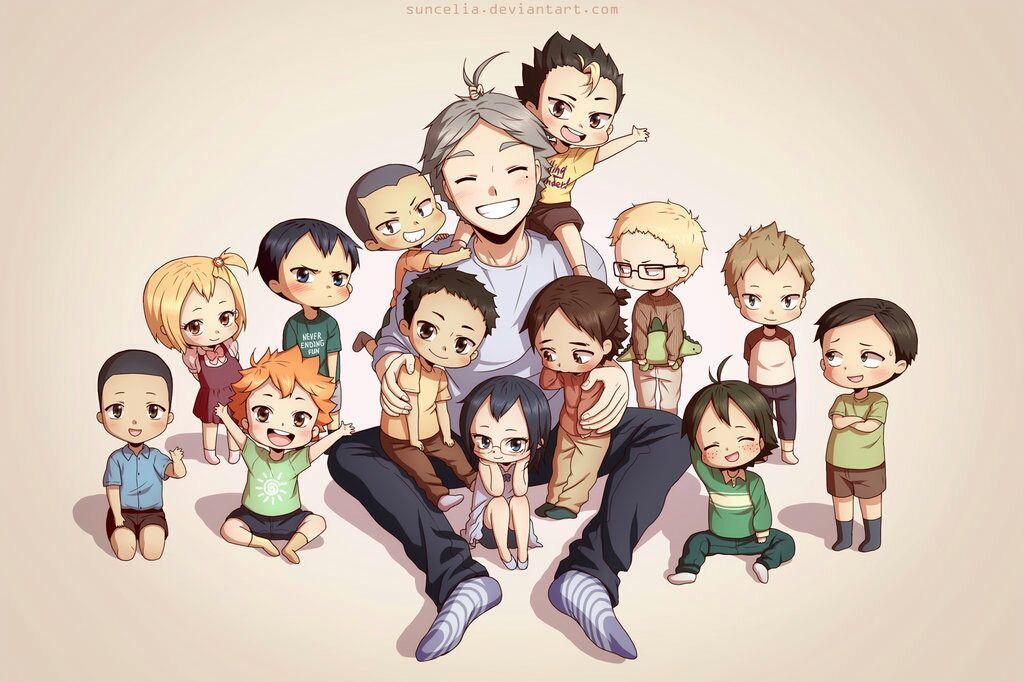 Haikyuu Headcanons And More - Karasuno Family