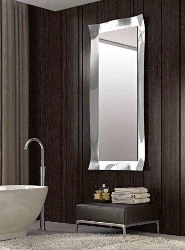 Specchi Artistici Da Bagno.Specchio In Stile Moderno A Parete Con Cornice Per Ingresso