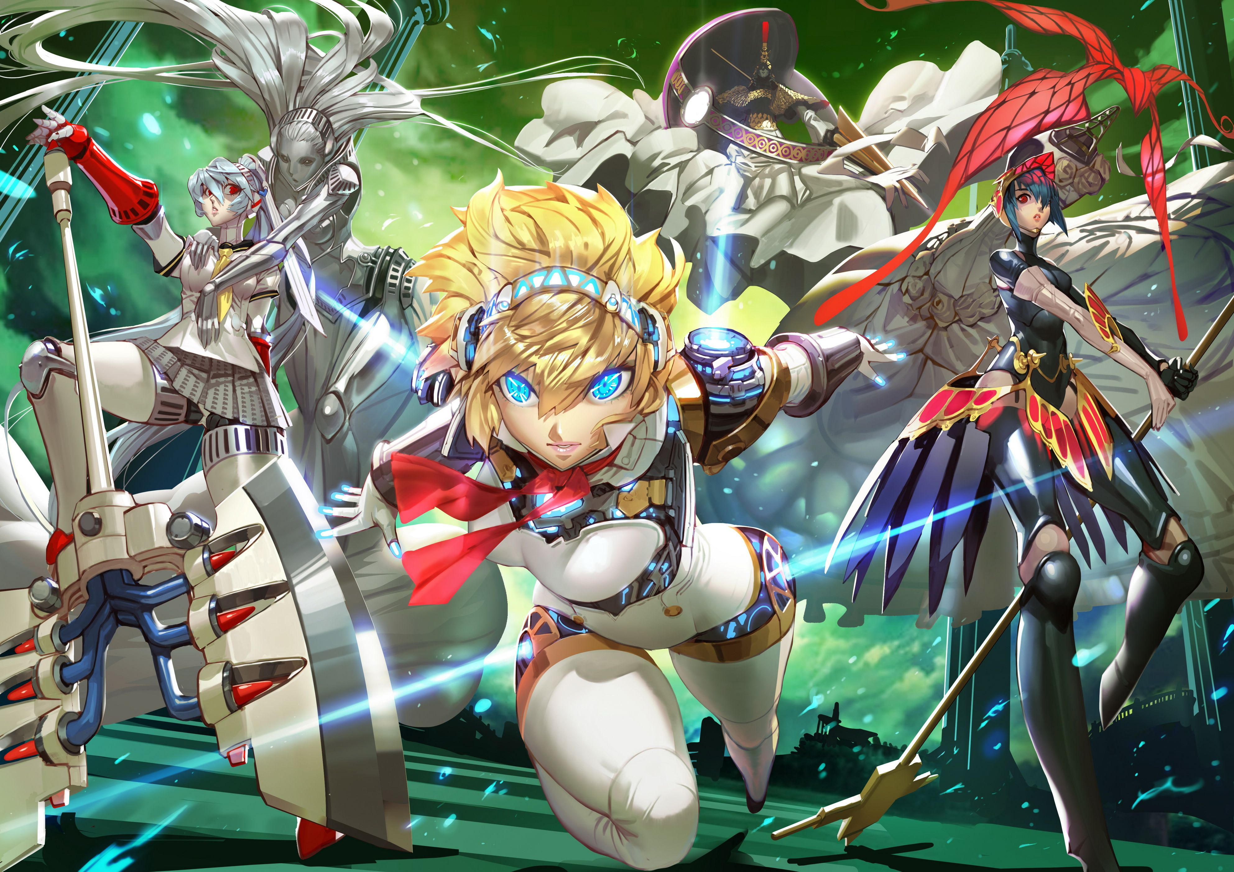 Persona Robots アイギス ペルソナ ポスター