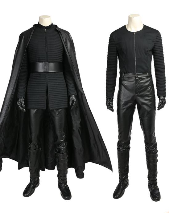 Manluyunxiao Star Wars Episode 8 The Last Jedi Kylo Ren Cosplay Costume Customize Halloween Party Full Set Kylo Ren Costumes Star Wars Costumes Jedi Costume
