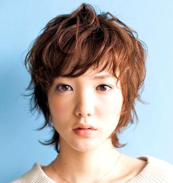 即、こなれる! 前髪ありのショート&ボブ【24の実例】 | 美的.com
