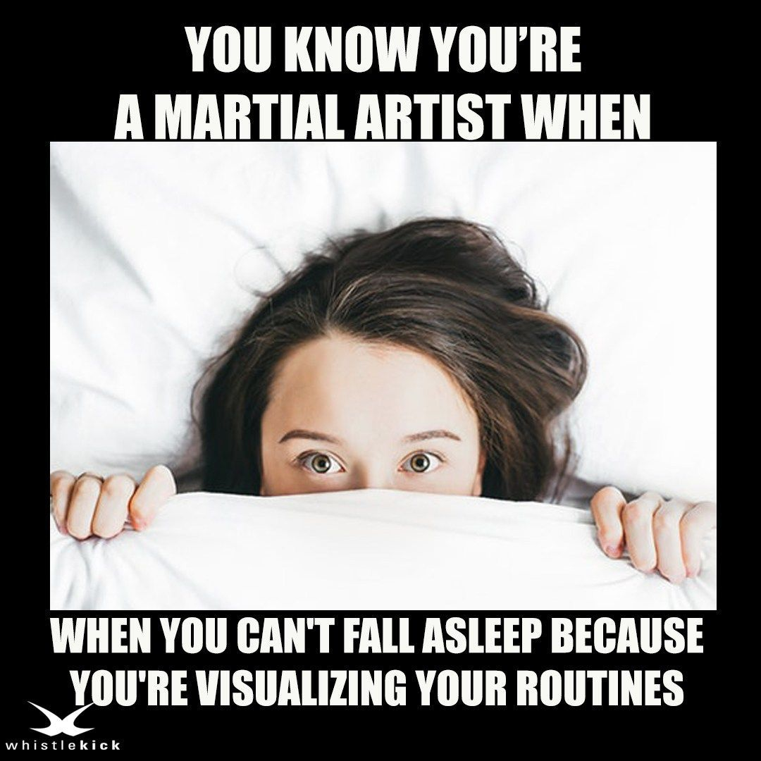 You know you're a Martial Artist when you can't fall