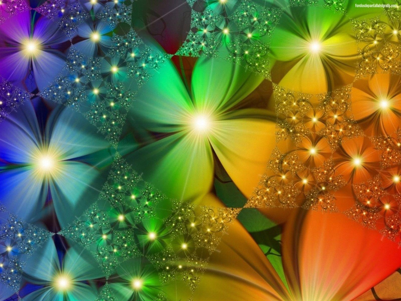 Fondos De Pantalla De Flores Hermosas: Imagenes De Flores Hermosas Con Movimiento Y Brillo