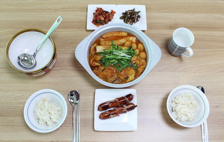 남은명절음식처리:전찌개 끓이기