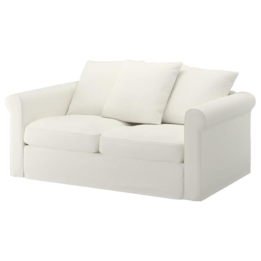 Harlanda Loveseat Inseros White Ikea In 2020 Love Seat White Loveseat Sofa