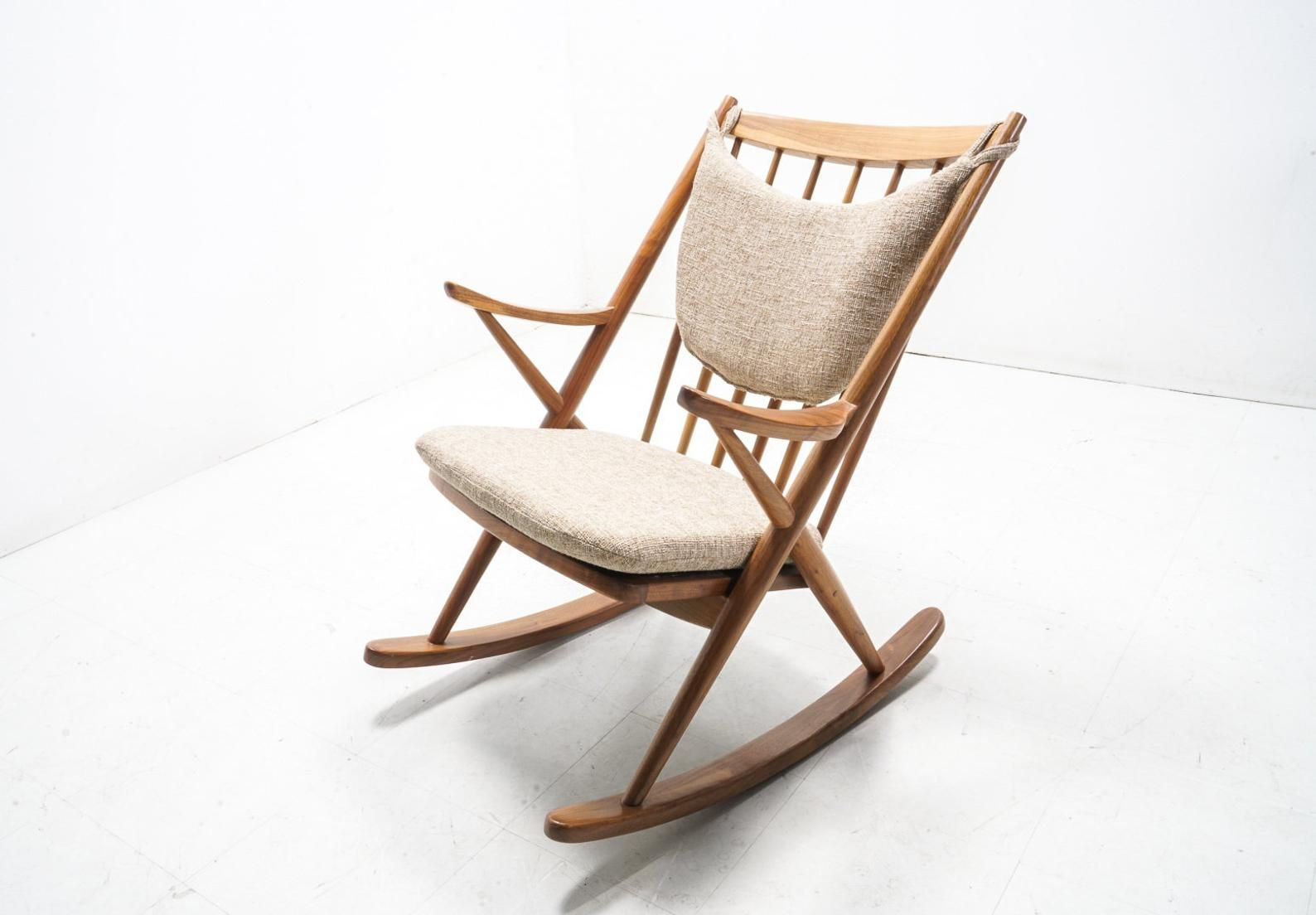 Danish Mid Century Modern Rocker Etsy Modern Rocking Chair Rocking Chair Modern Rocker
