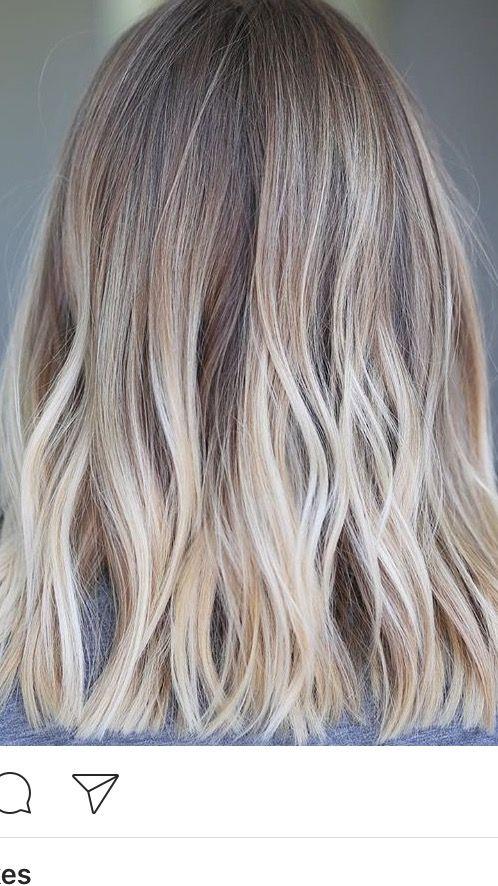 Pin By Bradleigh Bennington On Hair Color Melting Hair Blonde