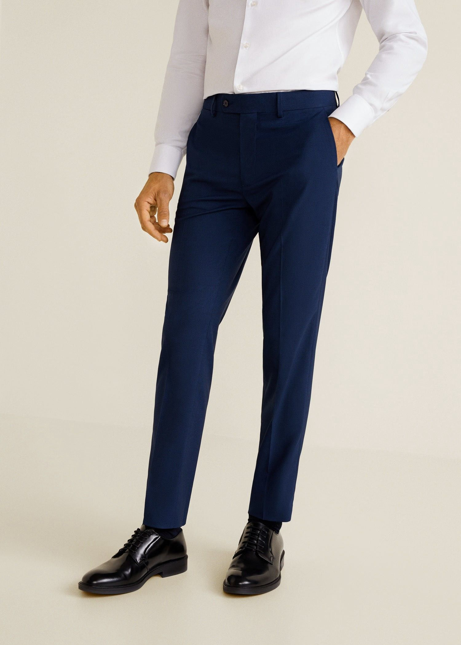 ed503363 Mango Super Slim-Fit Suit Trousers - 26 in 2019 | Products | Trouser ...