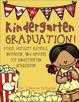Kindergarten graduation diploma invitation poem nursery rhymes filmwisefo