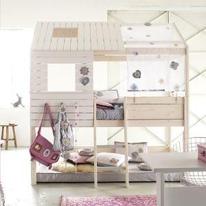 lifetime hochbett silver sparkle wei umbaubar 90x200cm lena pinterest. Black Bedroom Furniture Sets. Home Design Ideas