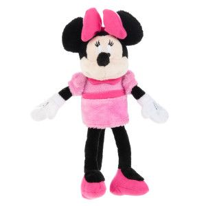 Disney Mickey Mouse Or Minnie Mouse Plush Squeaker Dog Toy Toys