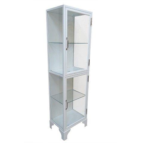 Linen Tower Apothecary White   Threshold. Linen Tower Apothecary White   Threshold   Home    Bathrooms