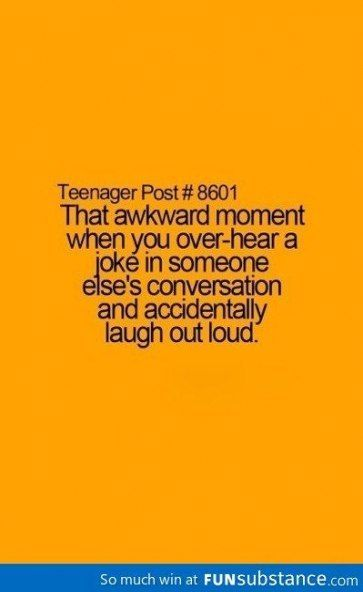 Teenager Posts Awkward Funny Pictures