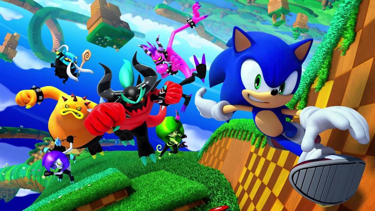Wonder World By Tomoya Ohtani Takahito Eguchi And Naofumi Hataya Sonic Sonic The Hedgehog World Wallpaper