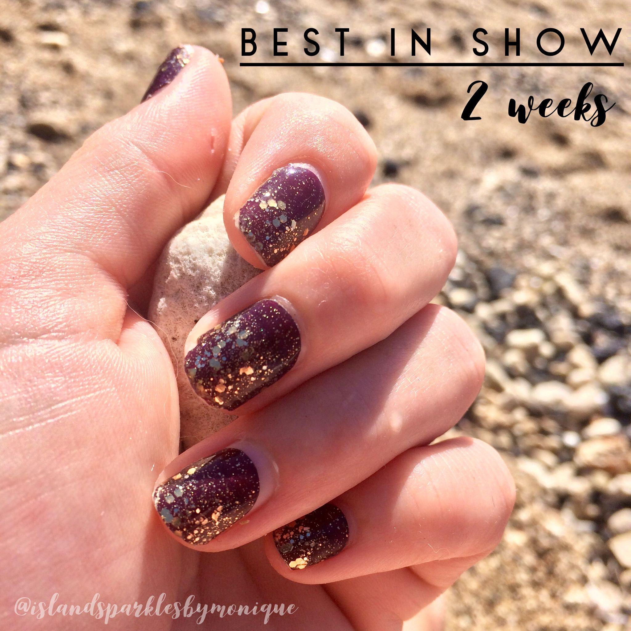 2 week mani, Best in Show, Color Street | Color Street Nailfies in