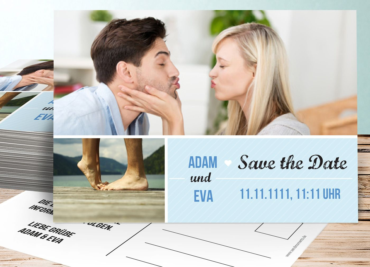 Viele moderne Save the Date Ideen findet ihr bei uns...   Umfangreiche Bildergalerie   Tipps & Infos   Beispiele zur Inspiration