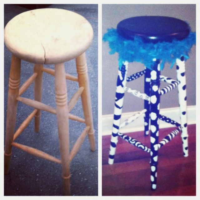 my fabulous teacher stool before and after classroom goodies