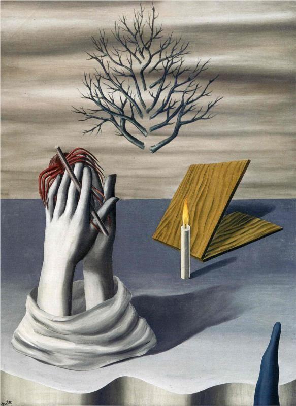 """""""L'alba di Cayenne"""", 1926. René Magritte."""