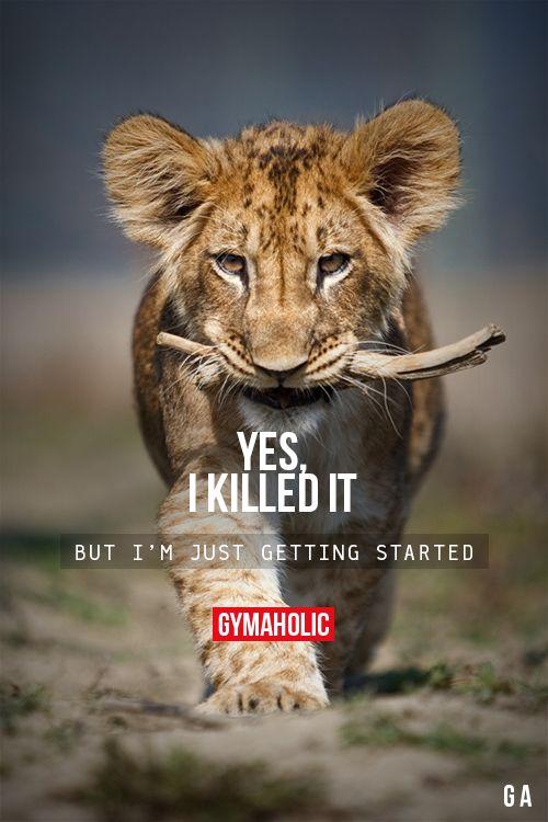Yes, I Killed It