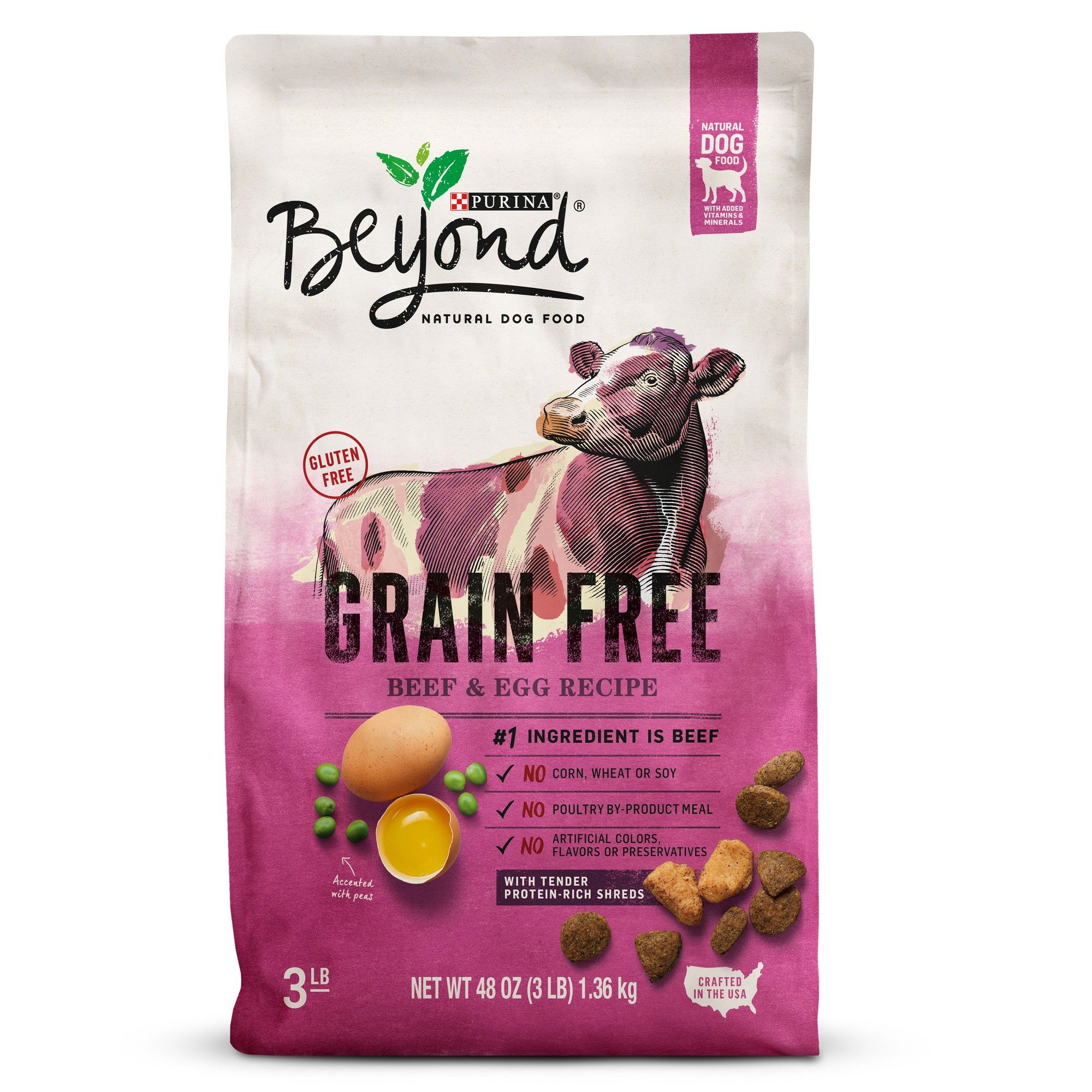 Purina Beyond Grain Free Natural Dry Dog Food Grain Free Beef