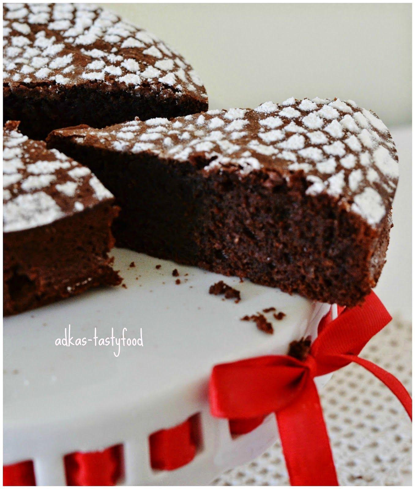 .. chute a vône mojej kuchyne...: Čokoládovo-mandľová torta (bez múky)