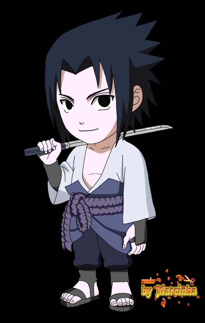 Chibi Sasuke By Marcinha20 Manga Dessin Naruto Sasuke