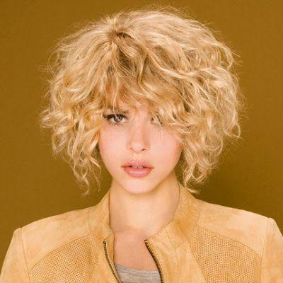 Причёски на пушистые средние волосы