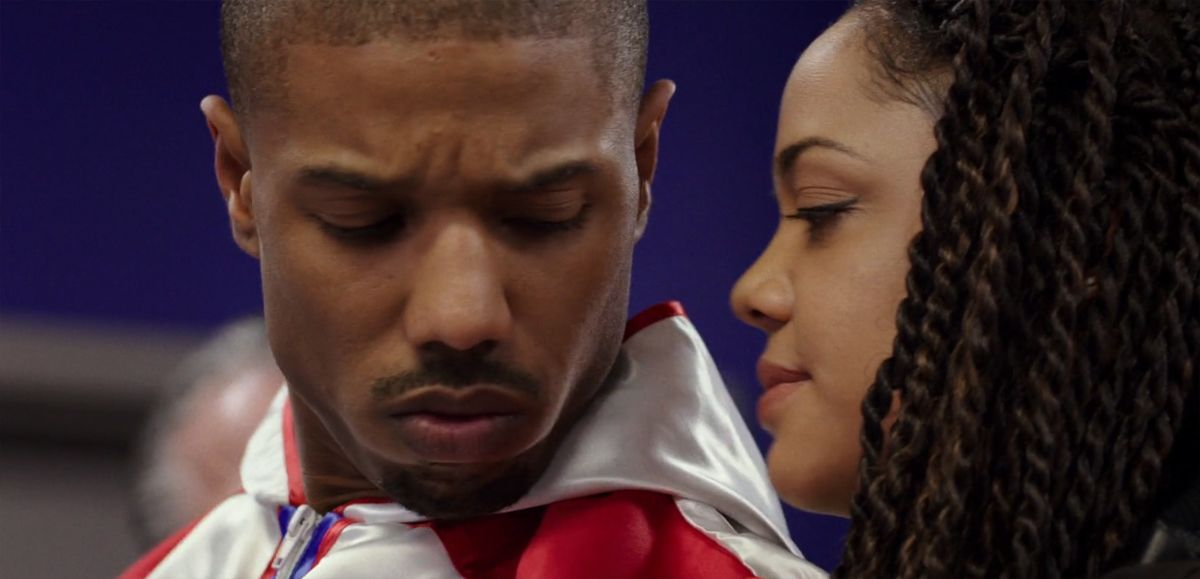 """Film frame from """"Creed"""" (2015)"""
