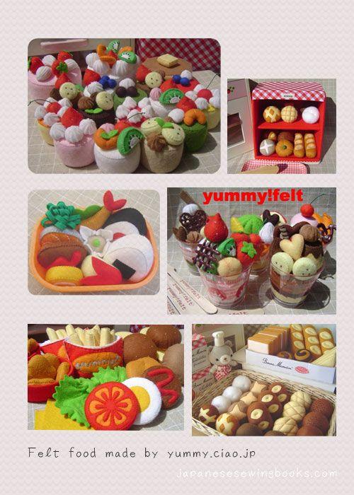 Free Japanese Sewing Pattern – Make a felt cake » Japanese Sewing ...