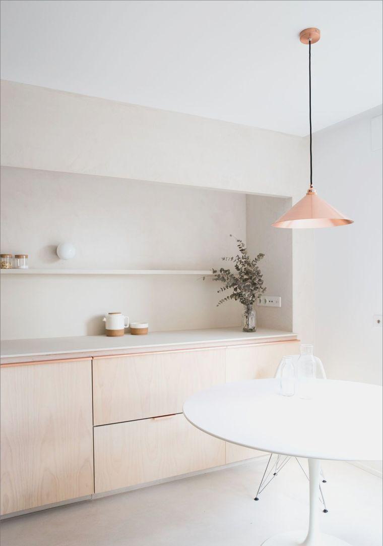 style-deco-minimaliste-couleur-pastel-cuisine  Minimalist