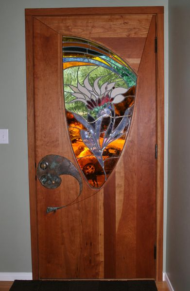 Stained Glass Entry Door By James Hubbell Pinterest