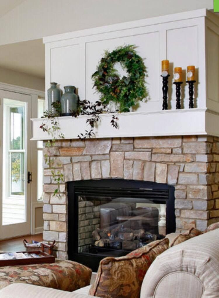 showing a paneled wall above fireplace... leaning towards ... on Fireplace Casual Living id=22411