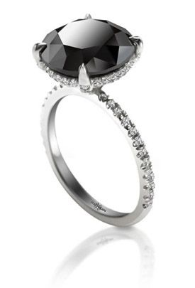 Black Diamonds Pricescope Black Diamond Ring Diamond Rings For Sale Jewelry