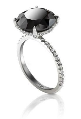 Black Diamonds Pricescope Black Diamond Ring Diamond Rings For Sale Jewelry