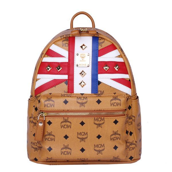 Mcm Small Flag Of Uk Backpack Mc5173s Wheat 219 00