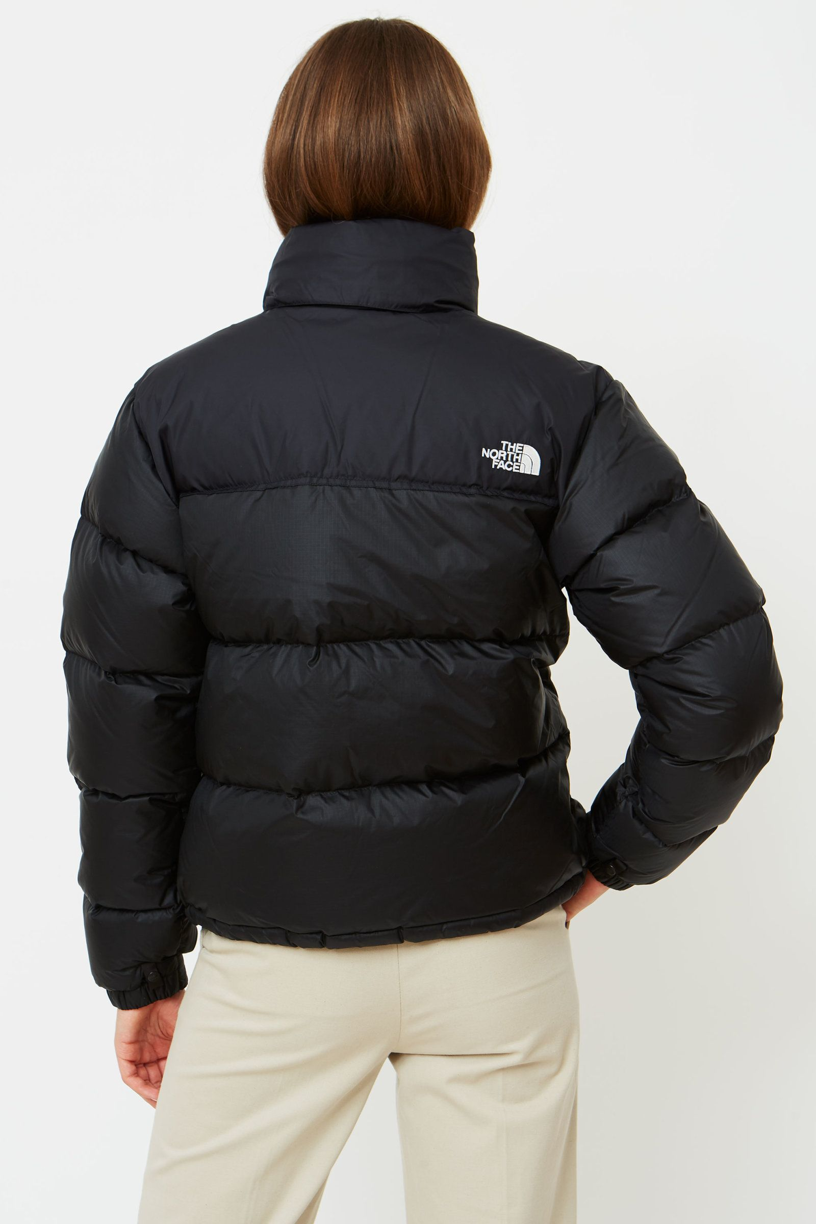 97f09b3ee7 Wood Wood - The North Face - Women s 1996 Retro Nuptse Jacket in Black