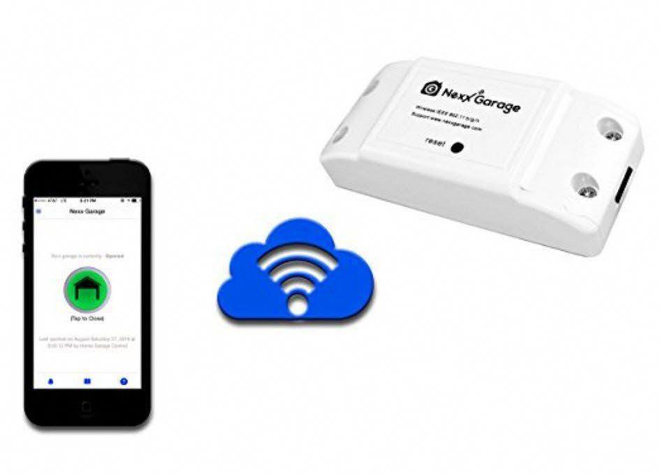 Smart Garage Door Controller Control Using A Smart Phone Amazon