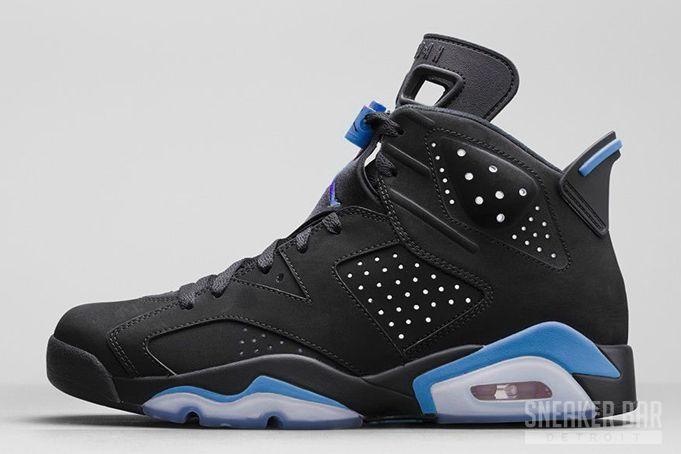 Air Jordan 6 UNC Black University Blue Release Date - SneakerBarDetroit 88cb77110