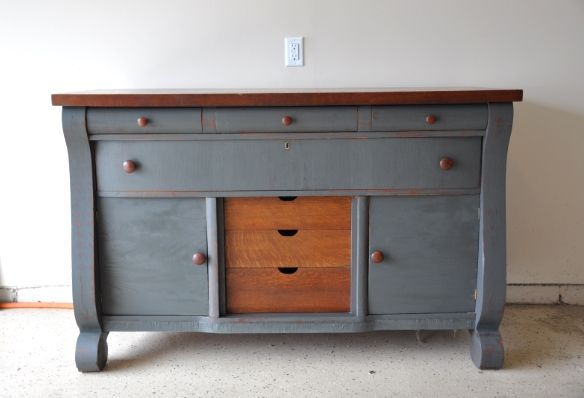 "Fab Rehab Creations: From Shabby ""Sheek"" to Rustic Chic: Empire Style Buffet"
