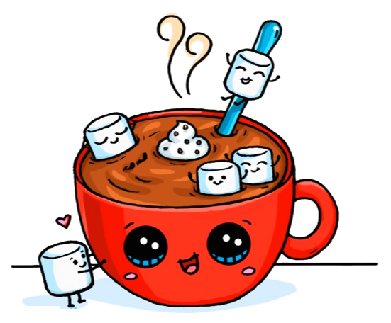 Hot Chocolate 365 Dessins Kawaii Dessin Kawaii Dessin Kawaii Logo