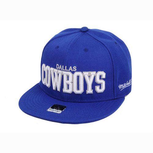 NFL Dallas Cowboys Baseball Hat Hiphop Blue, cheapnflhotjersey.com