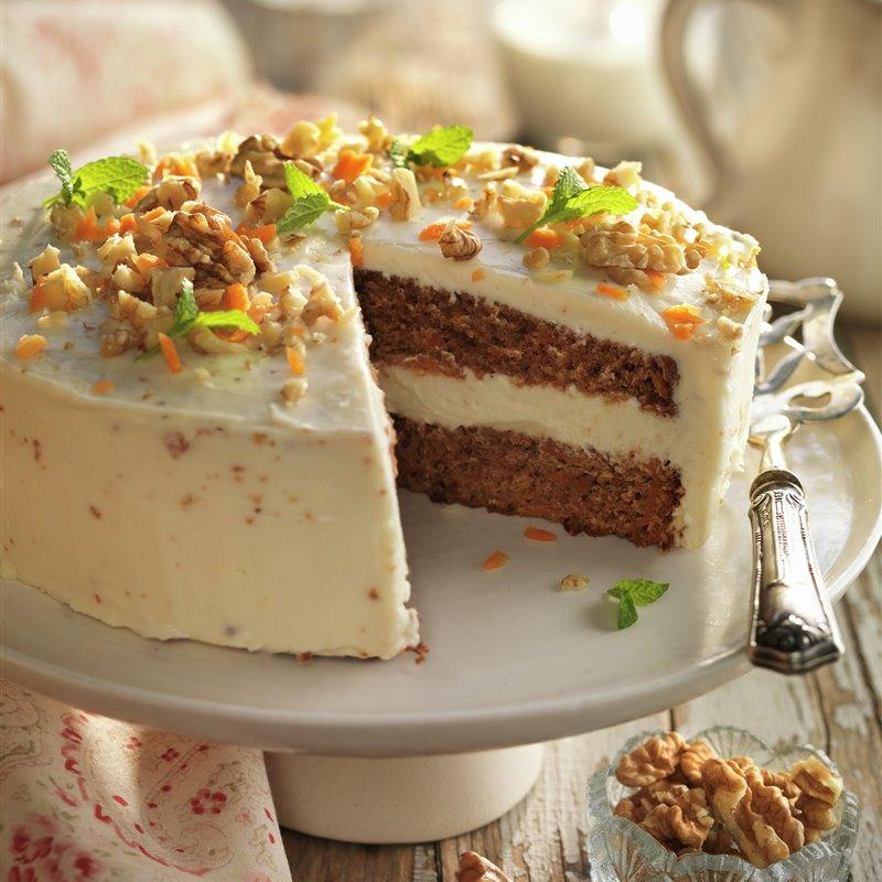 Carrot Cake Receta Tarta De Zanahoria Recetas De Tarta De Queso Tartas