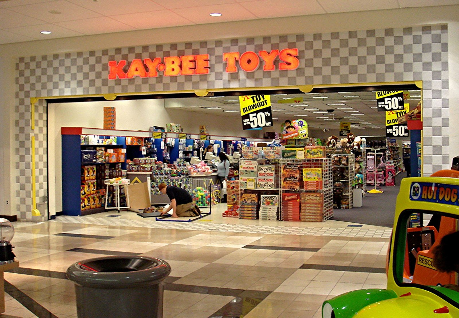 K Bee Toy Store Kay-Bee Toys at...