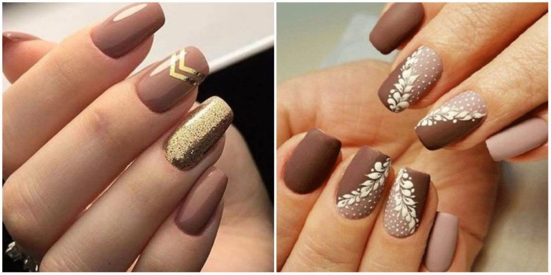 Fall Nail Colors 2020.Fall Nails 2020 Nail Design With Metalolic Jewel Shade And