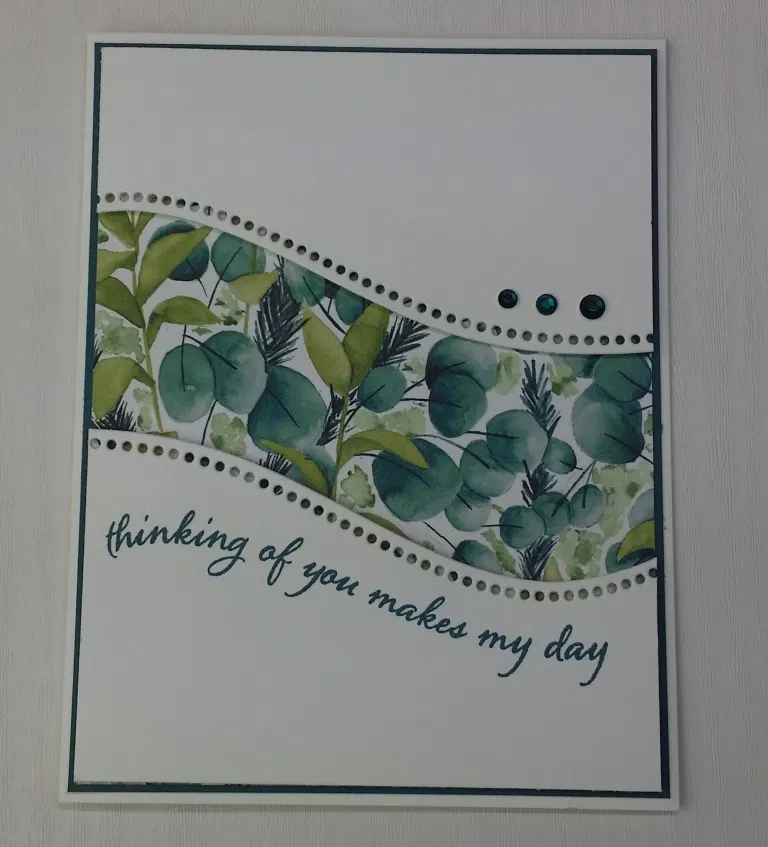Stampin' Up! Curvy Celebrations - Thank You Card T