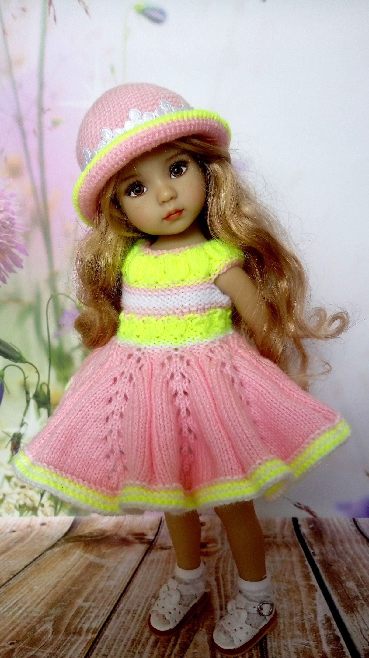 Wonderful outfit is knitted by me with love, for your