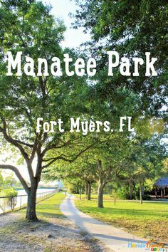 Do you love nature and play that's educational? Then Manatee Park is the place for you! Check out my latest blog post to see why I love Manatee Park in Fort Myers, Florida.