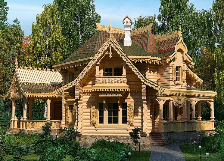 проект дома в русском стиле: 21 тыс изображений найдено в ...